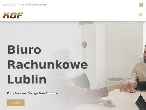 KOF: Ksi臋gowo艣膰 w Lublinie