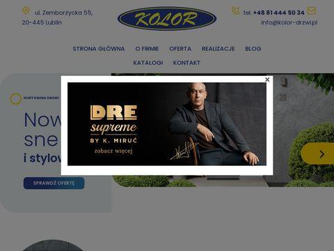 Drzwi zewnętrzne lublin – Kolor Drzwi