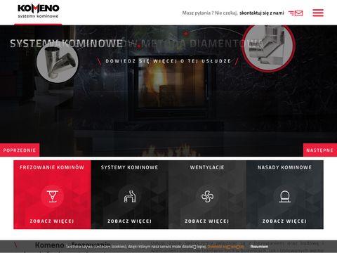 Systemy kominowe dla firmy - Komeno