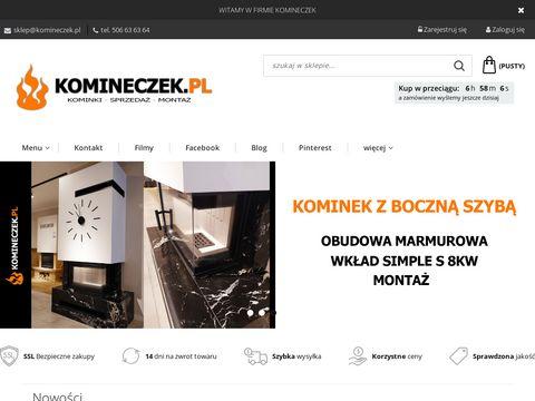 Komineczek.pl - tanie kominki krak贸w