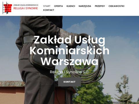 Czyszczenie kominów Warszawa - kominiarz.org