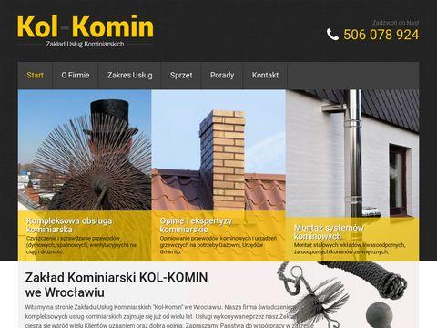 Kominiarz Wrocław, Kol-Komin