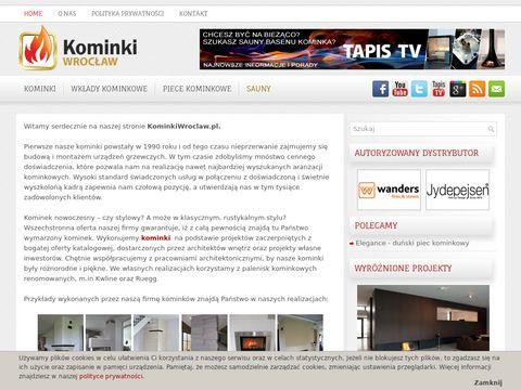 Kominki Wrocław - kominki, wkłady kominkowe
