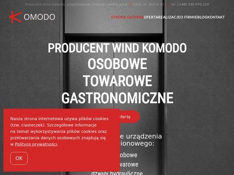 Komodo Windy Osobowe i Towarowe
