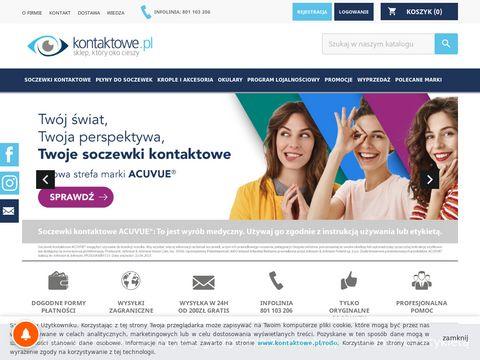 Szkła kontaktowe 24 h - sklep Kontaktowe.pl
