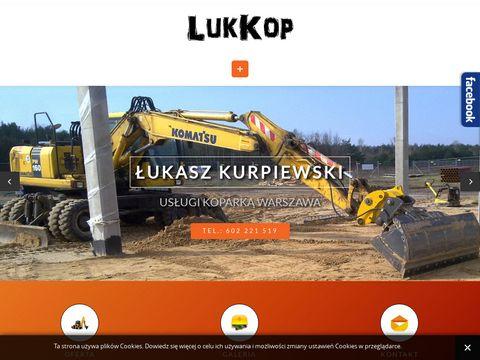 Koparka Warszawa, prace ziemne Warszawa