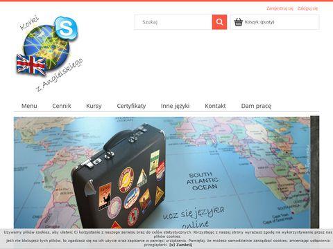Nauka Angielskiego Online przez Skype TÅ'umaczenia