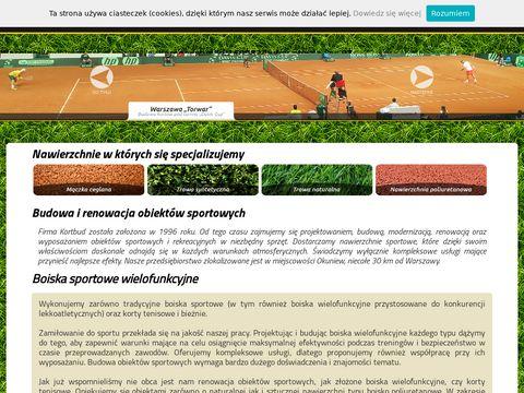 Profesjonalna budowa boisk sportowych Warszawa