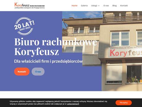Koryfeusz.pl ksi臋gowa Skar偶ysko