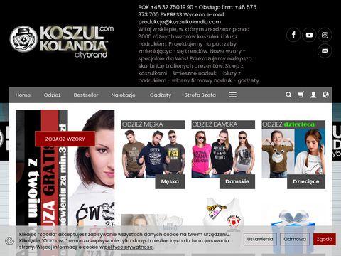 Koszulki z nadrukiem - Koszulkolandia.com