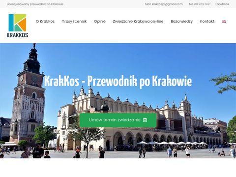 Przewodnik Kraków - KraKkos - Katarzyna Kos-Maciuk