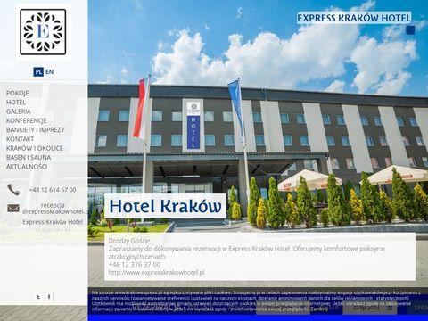 Hotele w Krakowie czterogwiazdkowe z salami konferencyjnymi, restauracjÄ… i barem dla goÅ›ci.