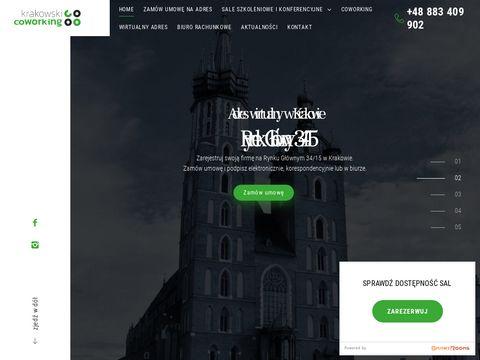 Krakowski Coworking - Sale, wirtualny adres, biuro rachunkowe