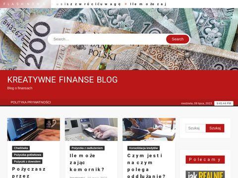 Kreatywne Finanse blog o finansach