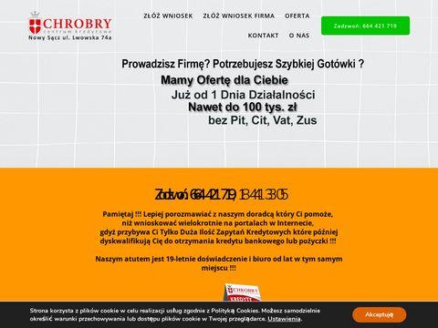 Chwil贸wki Nowy S膮cz - kredyty-chrobry.pl