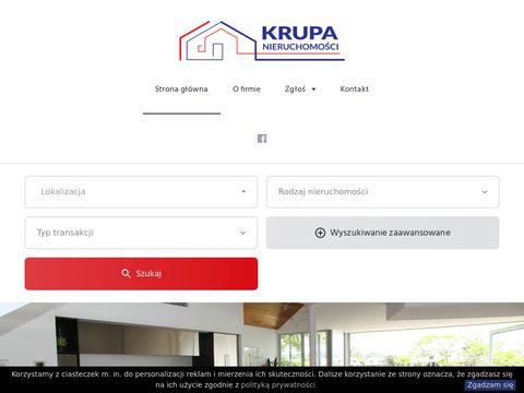 J KRUPA sprzedaż domów mazowieckie