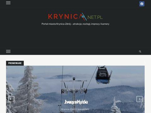 Portal miasta Krynica-Zdrój