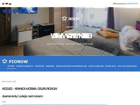 Pokoje w Krynicy Morskiej-Pensjonat PIONOW