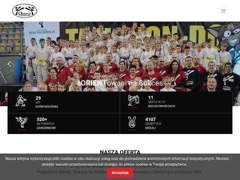 Taekwondo. Oficjalna strona klubu KS Orient