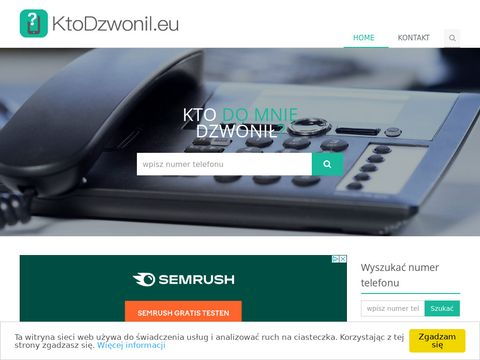 Wyszukiwania numer贸w telefonicznych - KtoDzwonil.eu