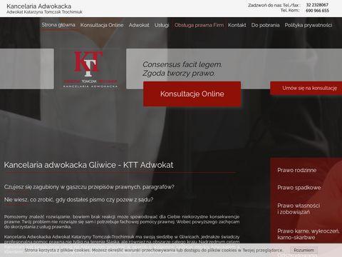 Prawnik - KTT Adwokat Gliwice