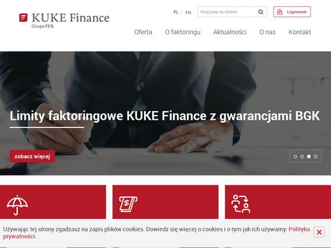 Faktoring w Polsce - KUKE Finance