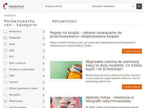 Kupujemy.pl Por贸wnywarka cen produkt贸w