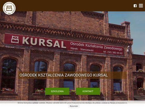 Ośrodek Ksztalcenia Zawodowego Kursal kursy na wózek widłowy Bydgoszcz