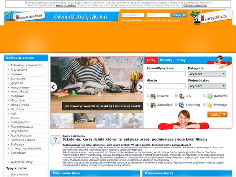 Kursy24h.pl - kursy zawodowe, szkolenia, sale szkoleniowe
