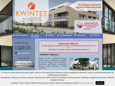 Mieszkania warszawa Wilanów - www.kwintet-wilanow.pl