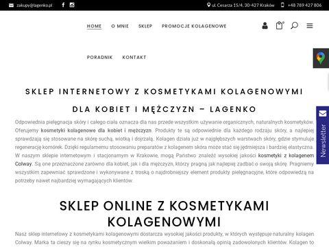 Kolagen na stawy lagenko.pl