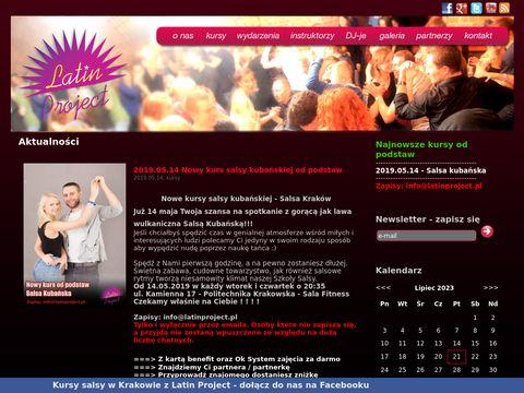 Latinproject.pl - imprezy salsowe, kursy tańca