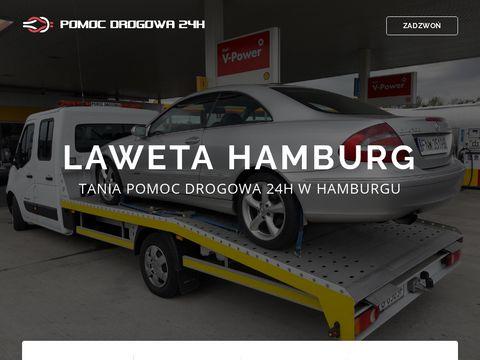 Pomoc drogowa Hamburg - www.laweta-hamburg.com.pl
