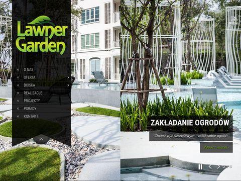 Zak艂adanie ogrod贸w - Lawner