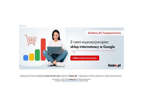 Ld-Eko sp.j. Laskowska M. sprzedaż węgla białystok