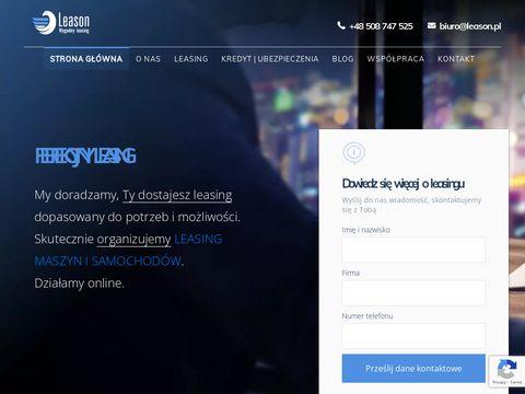 Pożyczka leasingowa | www.leason.pl