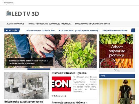 Telewizory Samsung led tv 3d