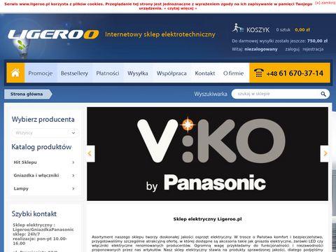Ligeroo.pl - sklep elektrotechniczny