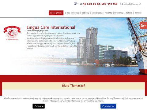 Lincare.pl - tłumacz przysięgły gdynia