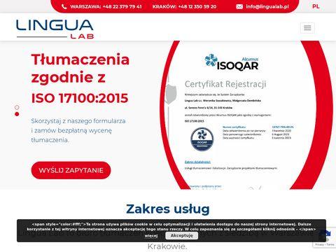 LinguaLab- lokalizajca oprogramowania