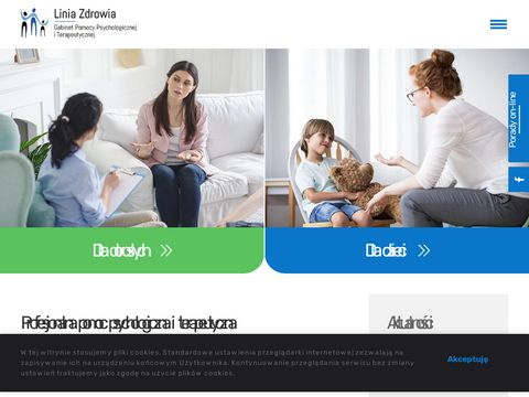 Linia Zdrowia - Gabinet Terapii