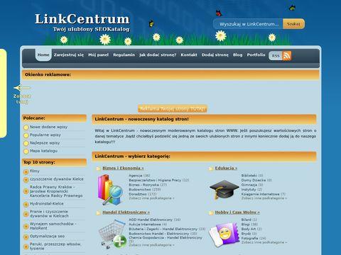 LinkCentrum - darmowe strony internetowe