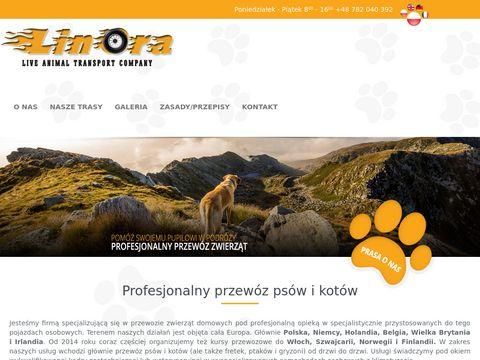 Przewóz psów - Linora.pl