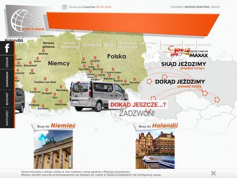 Przewozy do Niemiec, Belgii, Holandii