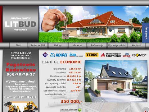 Budowa domów jednorodzinnych Kraków - Litbud