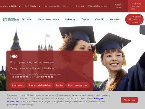 Szkoła językowa �ódź Lloyd Woodley English Language Centre �ódź