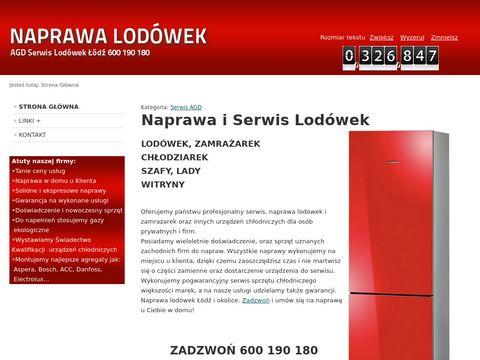 AGD Serwis Lodówek Łódź - Naprawa