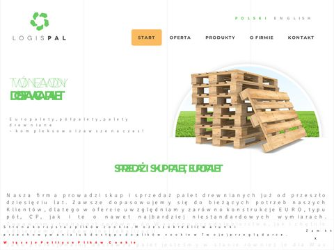 Www.logispal.pl palety sprzedaż
