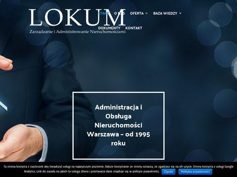 Lokum.waw.pl | obsługa nieruchomości warszawa