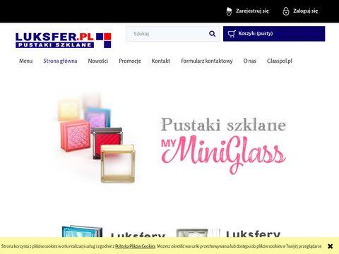 Luksfer.pl Sklep internetowy szkło luksfery fusing okna z luksferów